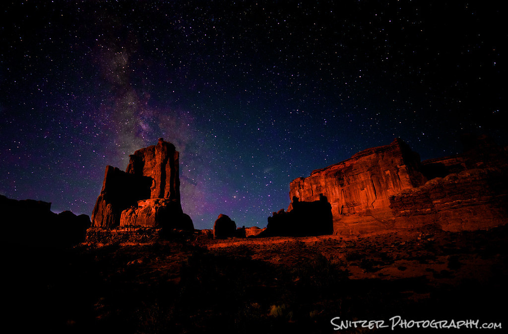 Celestial Photography at Arches!